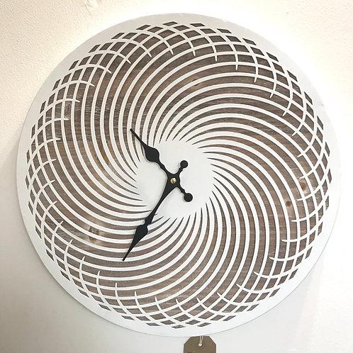 Stunning Swirl Clock