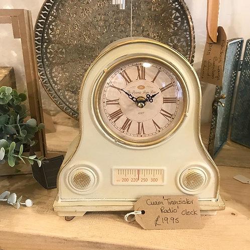 Transistor Radio Clock