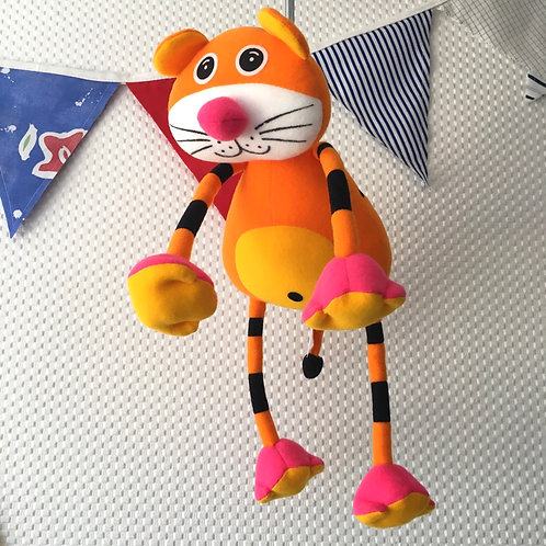 Tiggy the Tiger Nursery Springy Mobile Childrens Decor Distraction Toy