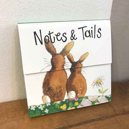 Rabbit Notes & Tails Notepad