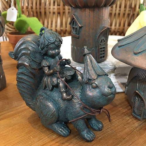 Fairy with Squirrel Gift Shop Hinckley Magical Cute