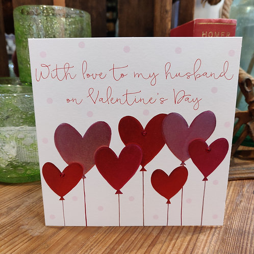 Valentine's Day Greeting Janie Wilson Husband