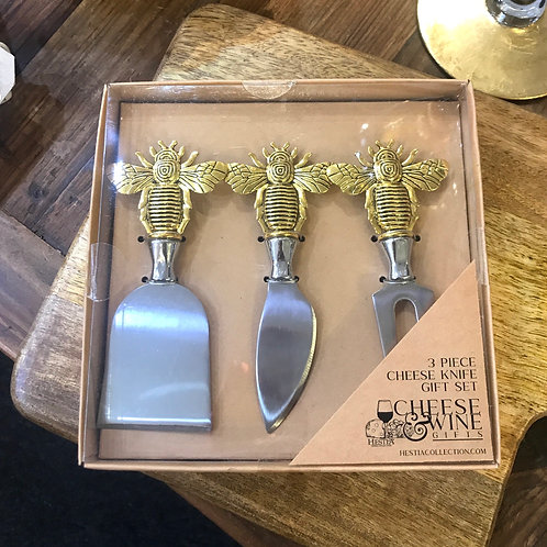 Bee Cheese Knives