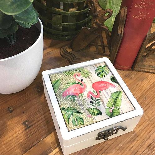 Tropical Flamingo Box
