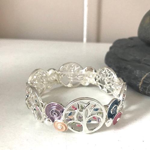 Multi-Coloured Tree Bracelet