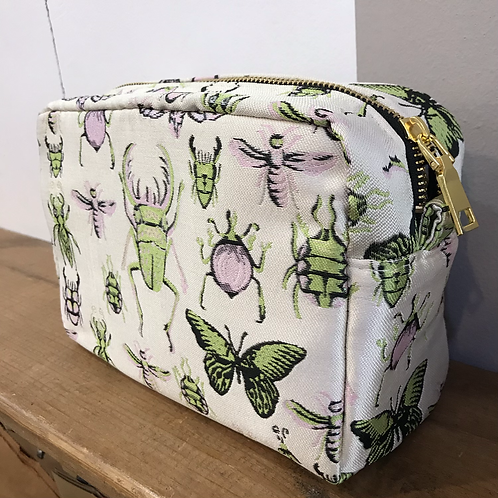 Butterfly Jacquard Cosmetic Bag