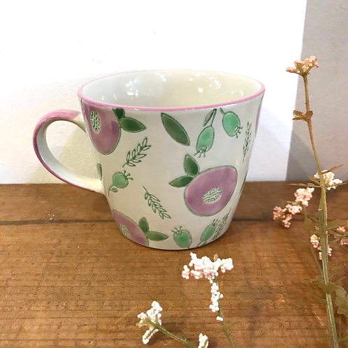 Purple Berry Ceramic Mug