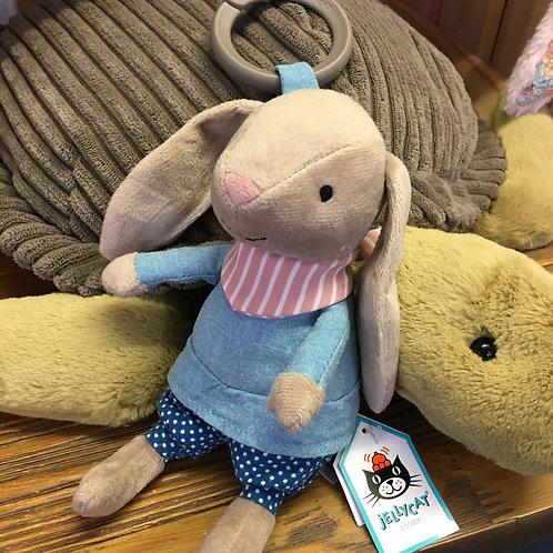 Jellycat Little Rambler Bunny Rattle Cute New Baby Gift Shop Hinckley
