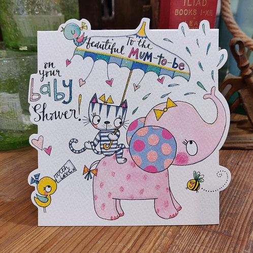 Rachel Ellen Greeting Card Baby Shower