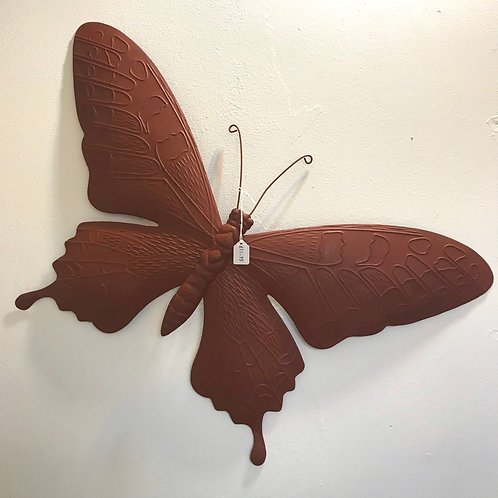Large Butterfly Garden Plaque