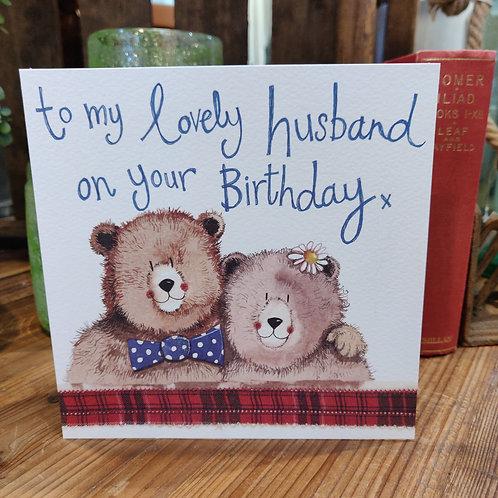 Relations Birthday Greeting Card Alex Clark Husband