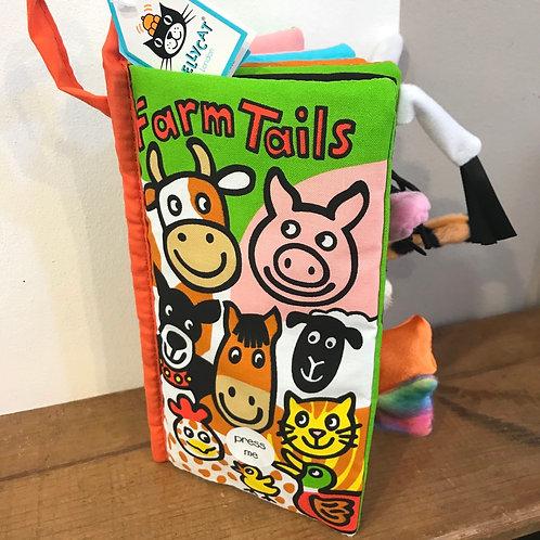 Farm Tails Jellycat Book