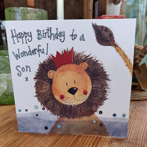 Relations Birthday Greeting Card Alex Clark Son
