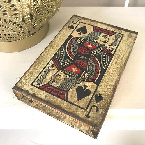 Jack of Spades Card Box