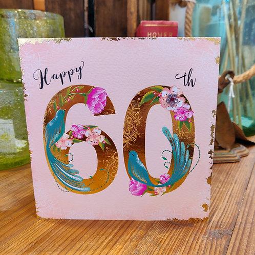 Rachel Ellen Greeting Card Birthday Age 60