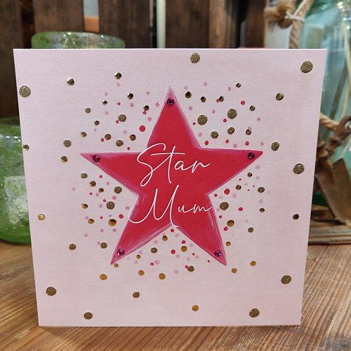 Janie Wilson Greeting Card Birthday Mum