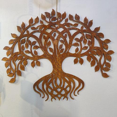 Twisting Tree Wall Plaque