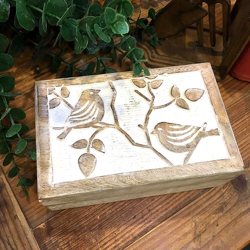 Bird Wooden Box