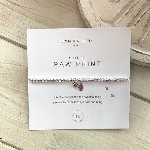Paw Print Joma Jewellery Bracelet