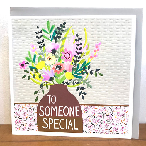To Someone Special Greeting Card
