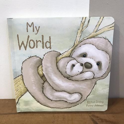My World Sloth Jellycat Book