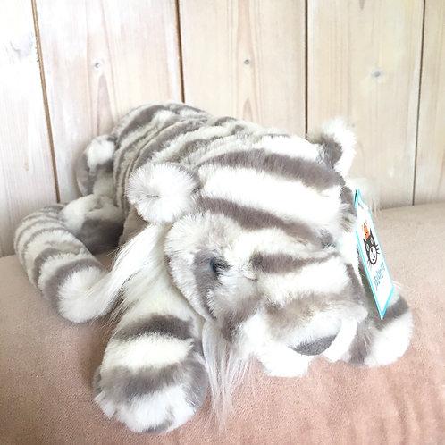 Sacha Snow Tiger Jellycat Cuddly Toy