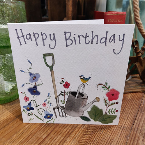 Happy Birthday Greeting Card Alex Clark Garden