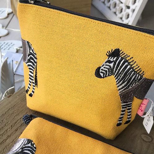 Zebra Cosmetic Bag
