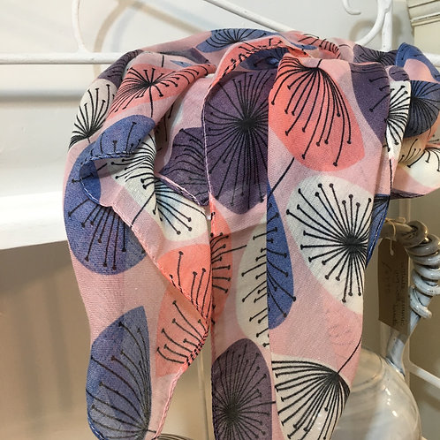 Blush Pink Allium Scarf
