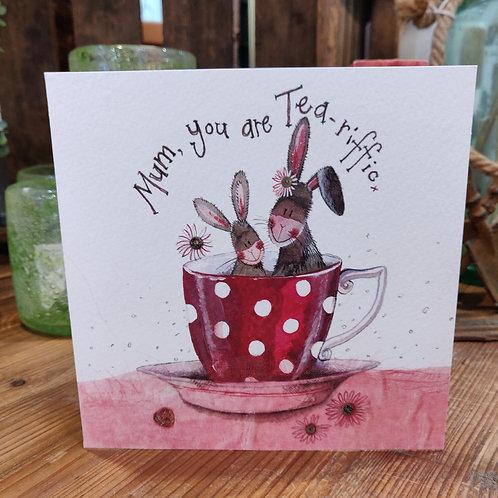 Relations Birthday Greeting Card Alex Clark Mum