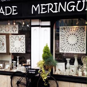 Shop Window Display Featuring Wonderful Wooden Panels