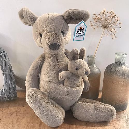 Kara Kangaroo Jellycat Children Baby Cute Gift Shop Hinckley
