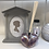 Pearlescent Pink Glass Heart Fragrance Diffuser