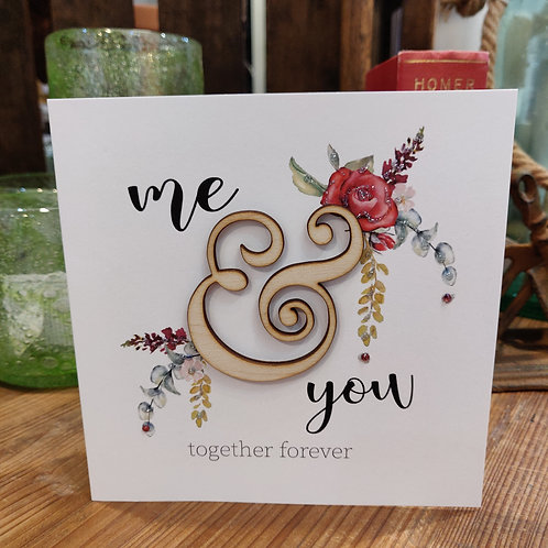 Valentine's Day Greeting Card Tracey Russell Together Forever