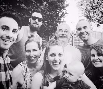 The Marmalade Meringue family.