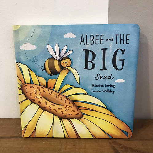 Albee and the Big Seed Jellycat Book