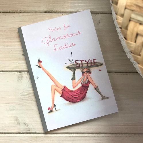 Glamorous Ladies Notebook