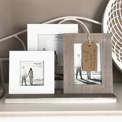 Trio of Photo Frames