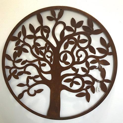 Swirling Tree Plaque