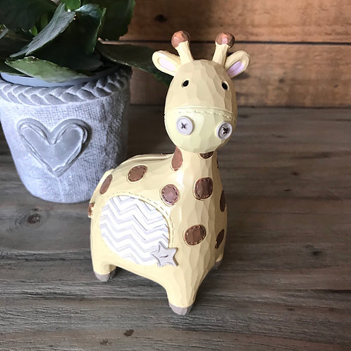 Giraffe Money Box Front