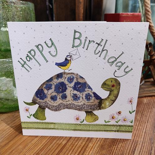Happy Birthday Greeting Card Alex Clark Tortoise