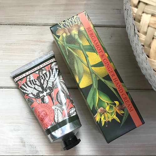 Bergamot and Ginger Kew Gardens Hand Cream
