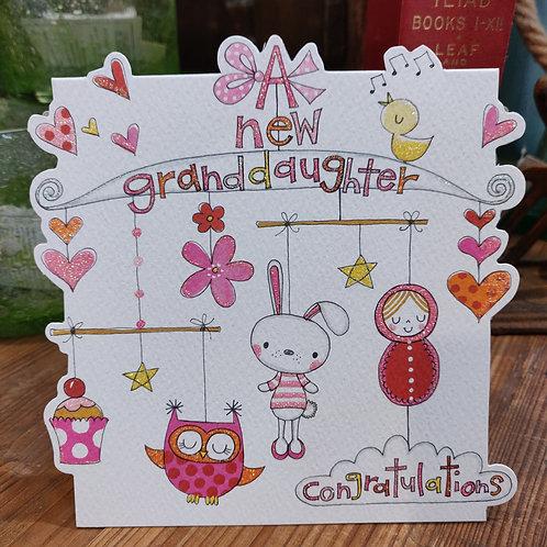 Rachel Ellen Greeting Card Granddaughter