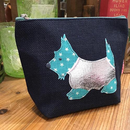 Scottie Dog Cosmetic Bag