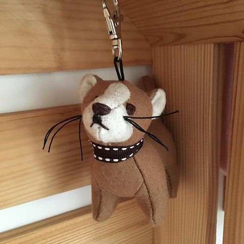 Dora Rice Pudding Key Ring Cat Cute Gift