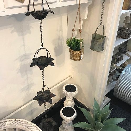 Flower Rain Chain Garden Gardening Gift Shop Hinckley