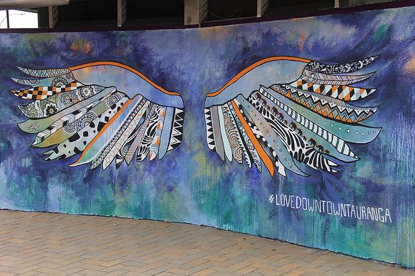 The wings to fly in Tauranga CBD