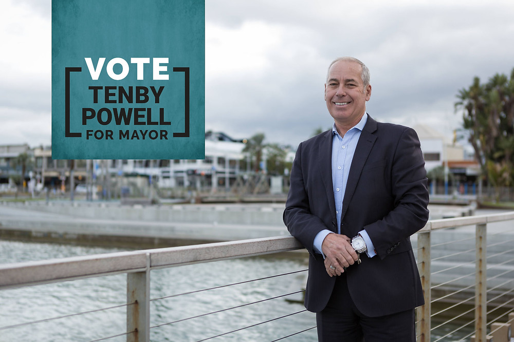 Vote Tenby Powell for Mayor