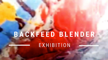 Backfeed blender