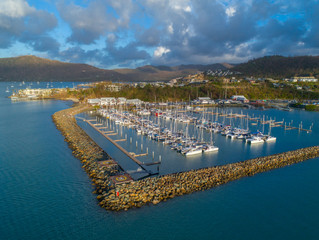 New video and drone shoot for Abell Point Marina